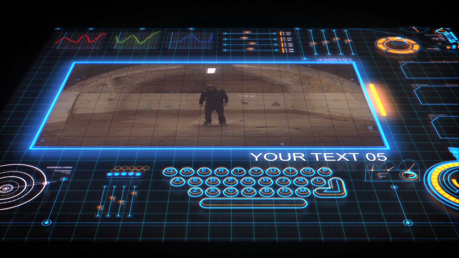 futuristic interface 3